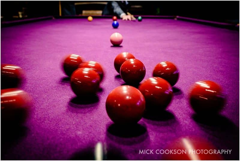 eaves hall pink snooker table