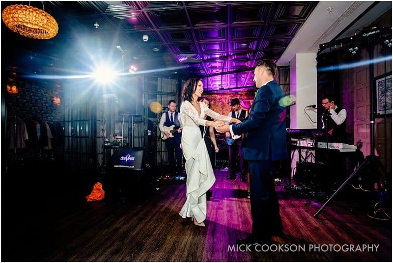 first dance at on the 7th wedding