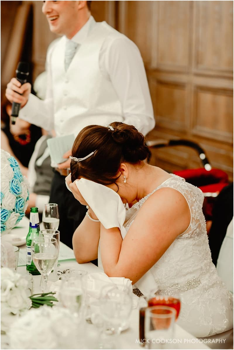 embarrassed bride at the royal toby hotel