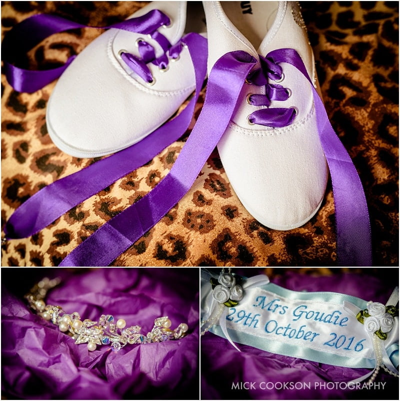 funky converse wedding shoes
