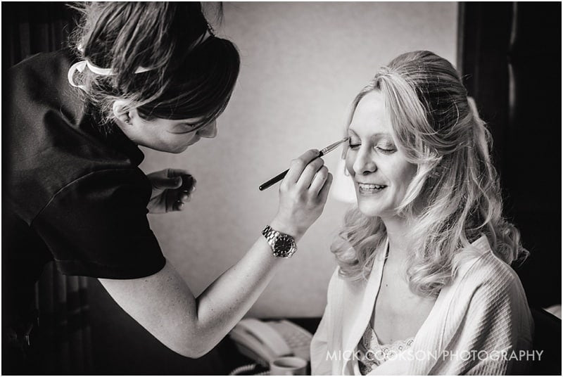 makeup artist at shrigley hall
