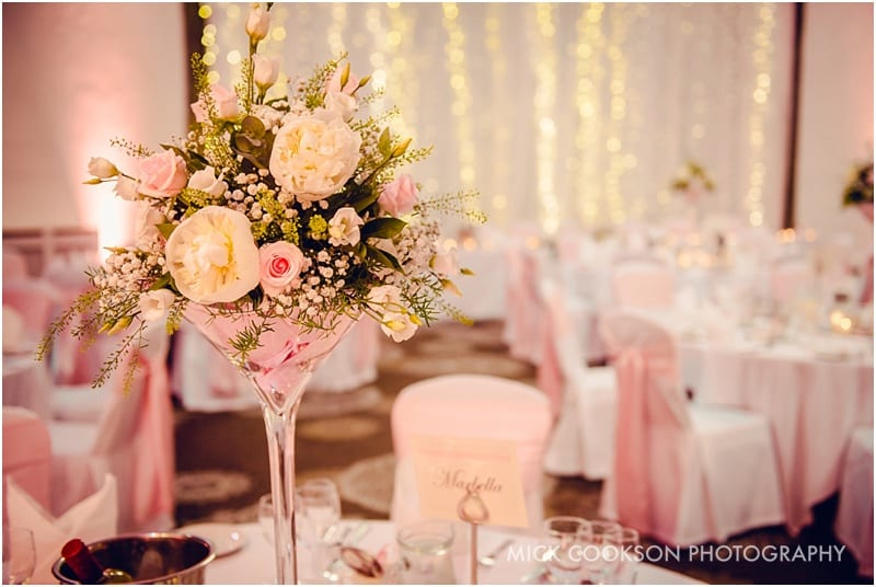 shrigley hall wedding table