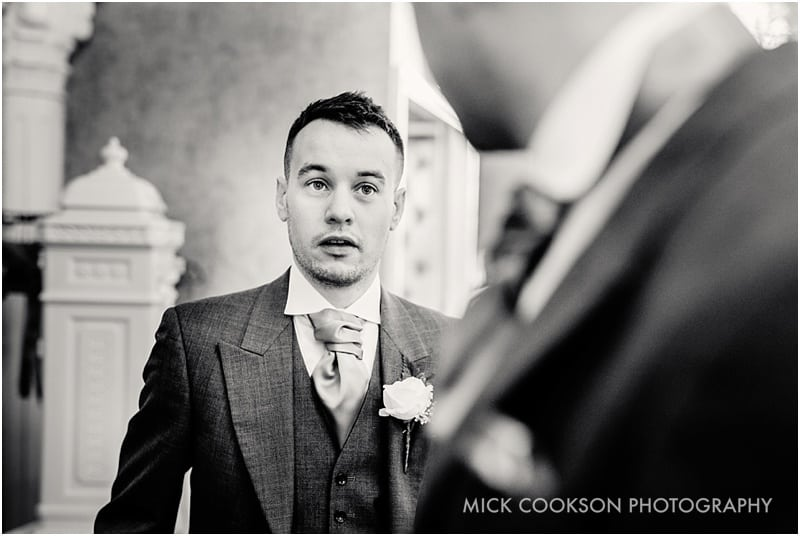 best man talking