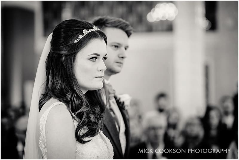 stylish bride and groom photo at 30 james street