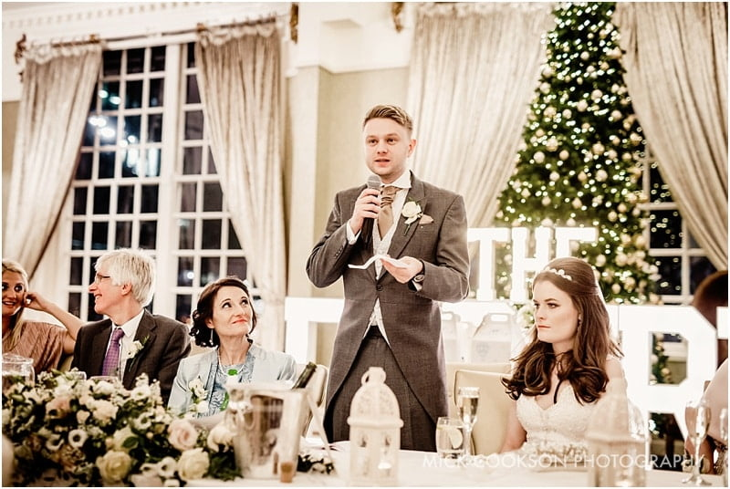 groom speech at 30 james street