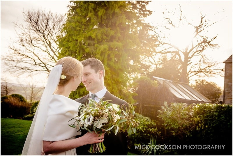 bride and groom photo in lancashire