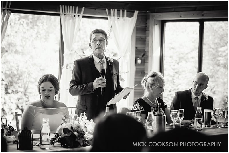 father of the bride speech at styal lodge