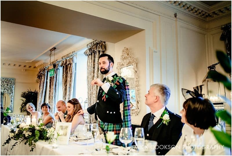 groom speech at his wedding