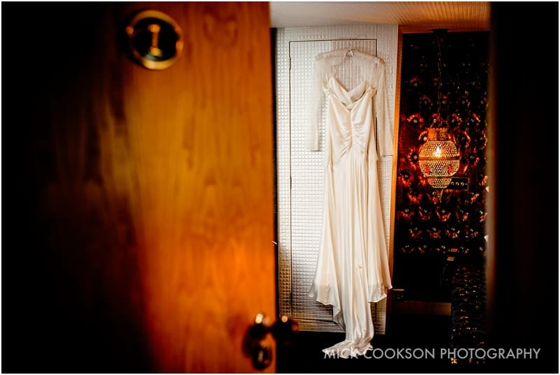wedding dress at the crazy bear stadhampton