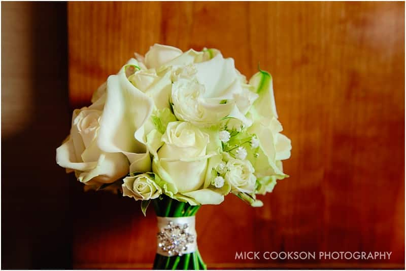 wedding bouquet at the royal toby hotel