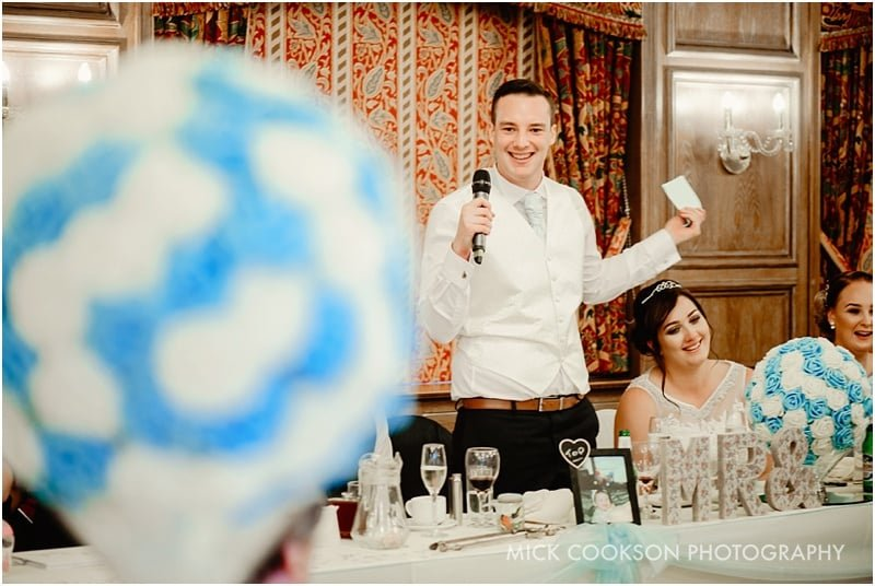 grooms speech at the royal toby hotel