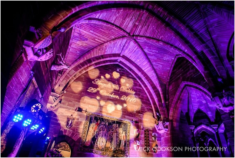 great hall at peckforton castle