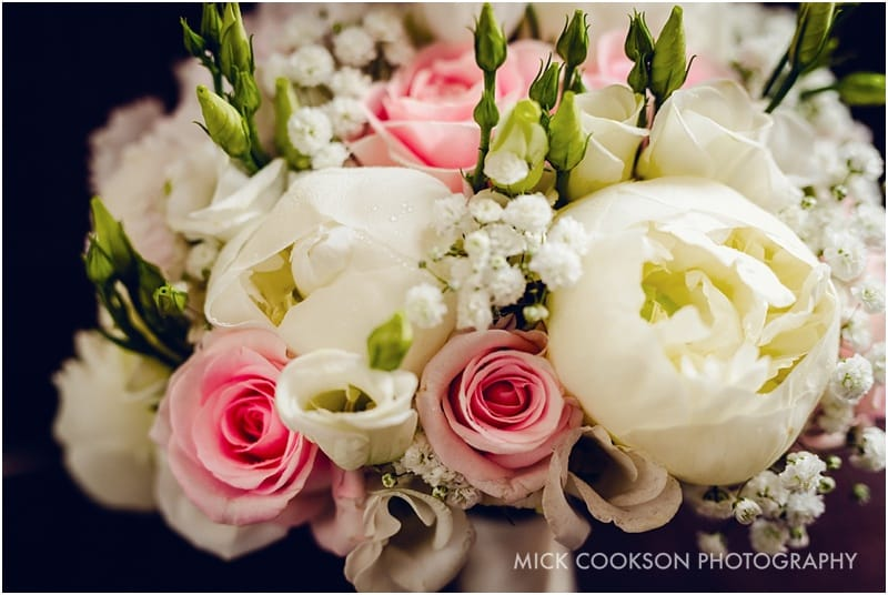 wedding flowers at shrigley hall
