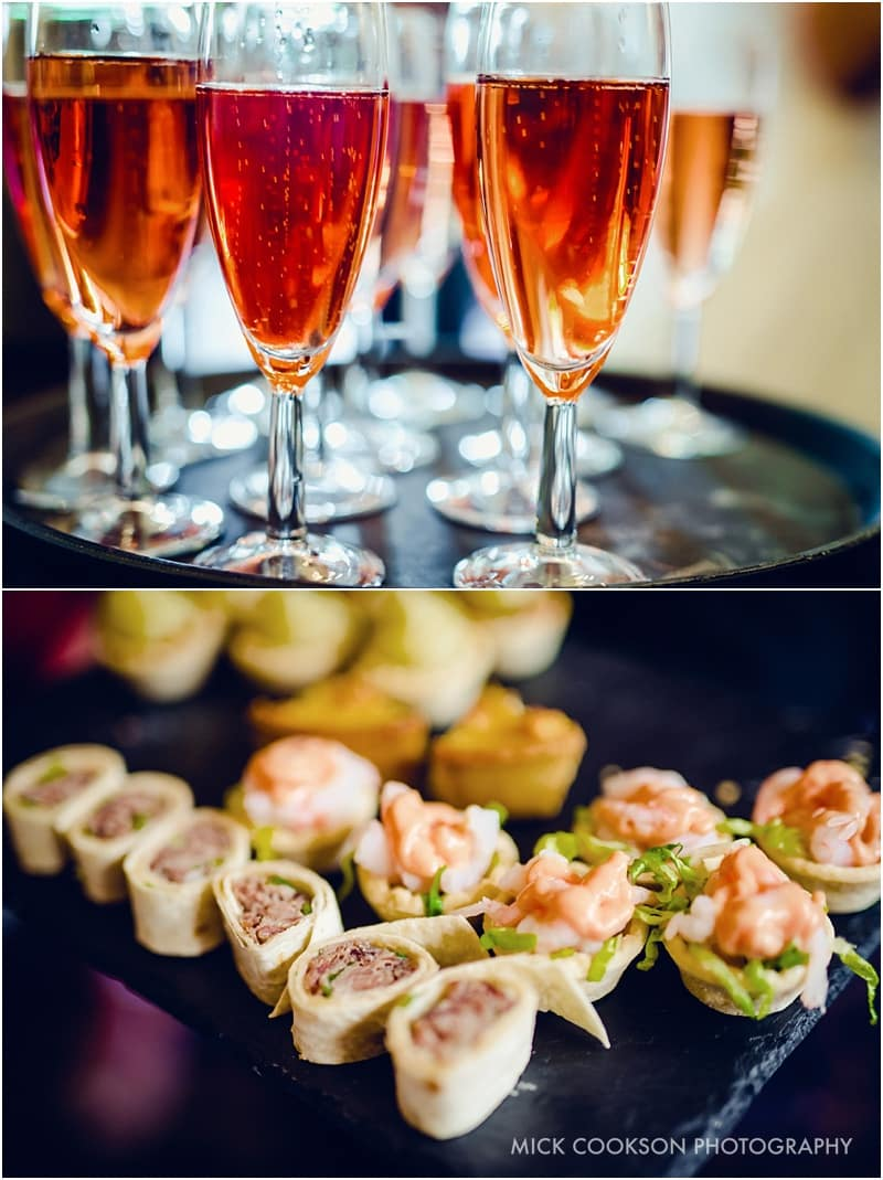 canapes at shrigley hall
