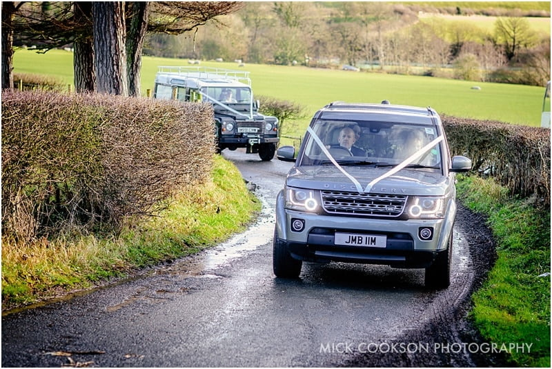 land rover wedding cars lancashire