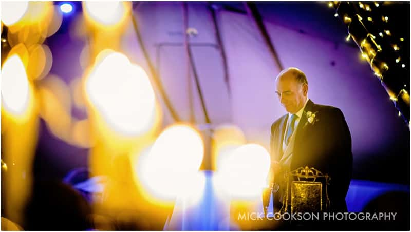 speeches at a tipi wedding