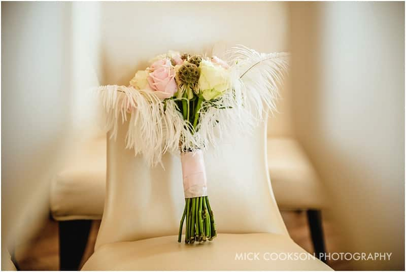 wedding flowers at 30 James St hotel