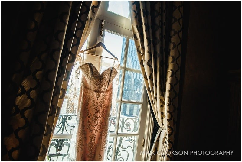 wedding dress at 30 James St hotel