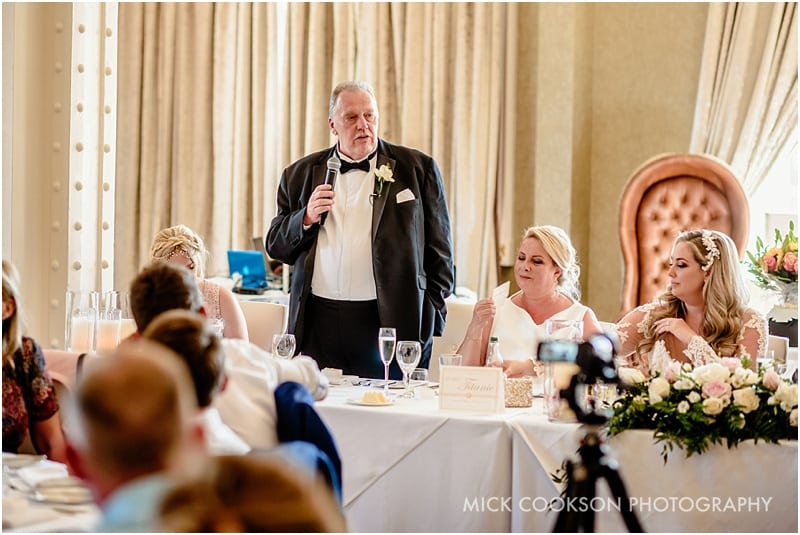 father of the bride speech at 30 James St hotel