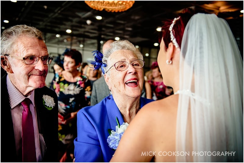 grandma at a wedding