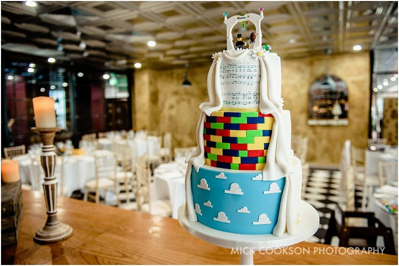 toy story wedding cake
