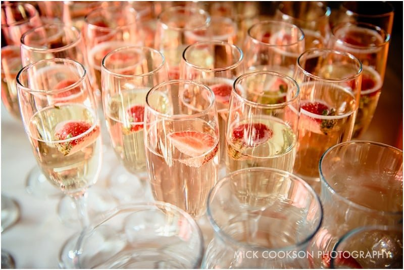 drinks reception at bartle hall