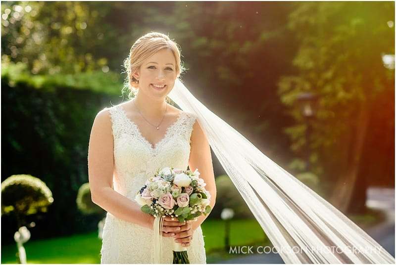 stunning bride photo at bartle hall