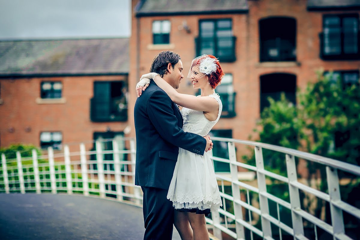 castlefield wedding photos