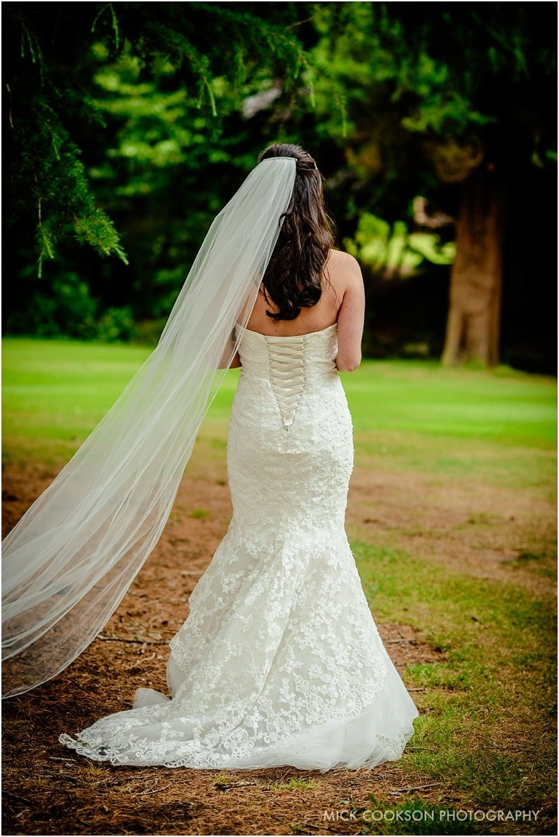 stunning chehire bride dress