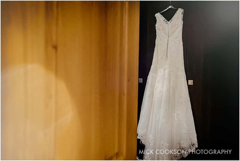 wedding dress at northcote