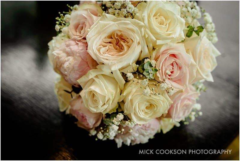 stunning wedding flowers at northcote