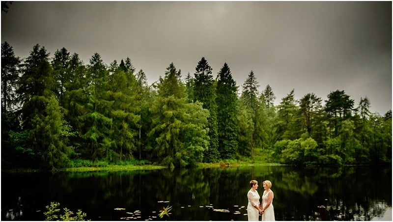 Gilpin Lake House Wedding – Sarah & Charlotte