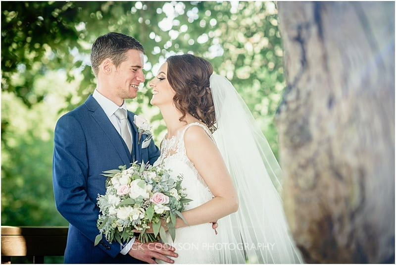 bride and groom photo at stirk house