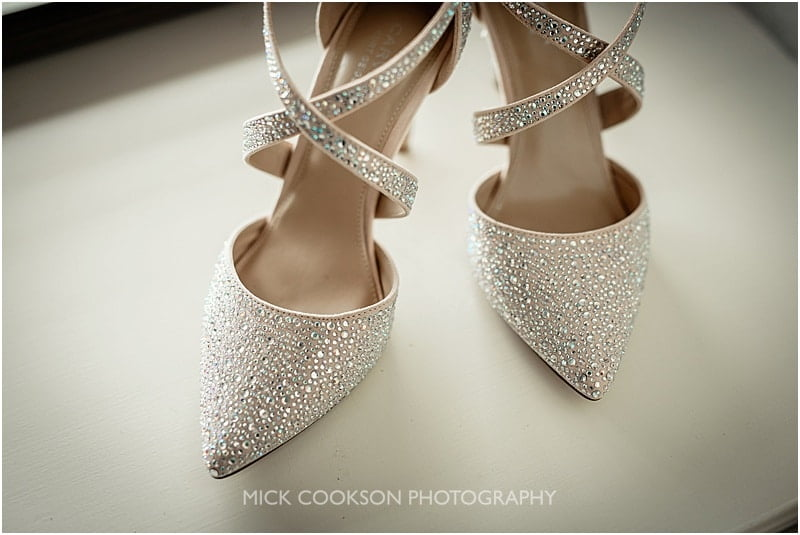 wedding shoes at the shireburn arms