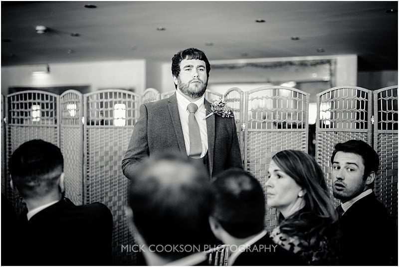 pensive groom at charnock farm