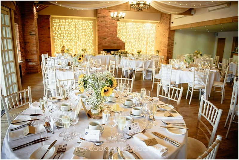 charnock farm wedding reception photographer