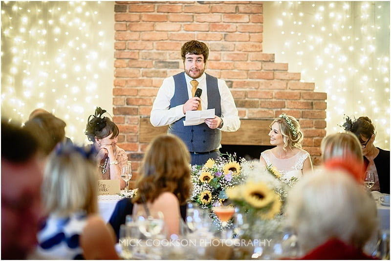 groom speech at charnock farm