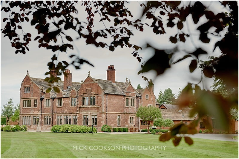 colshaw hall wedding venue in summer