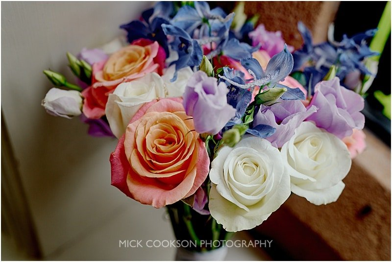 wedding bouquet at a colshaw hall wedding