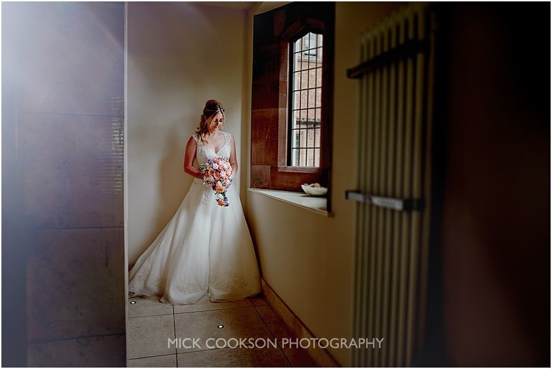 stunning bride photo at colshaw hall