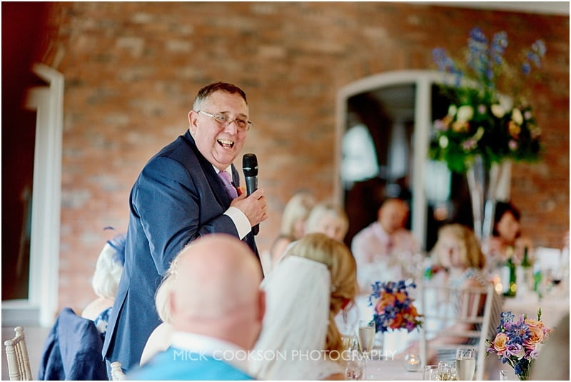 father of the bride speech a colshaw hall wedding