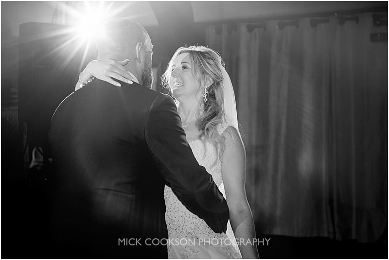 bride dancing at a colshaw hall wedding