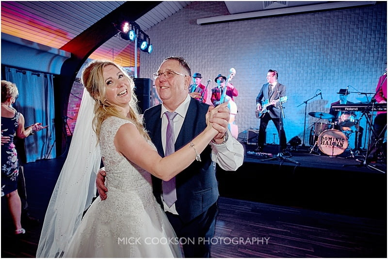 father daughter dance a colshaw hall wedding
