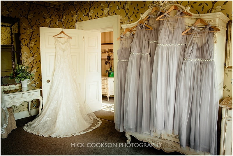 wedding gowns at eaves hall