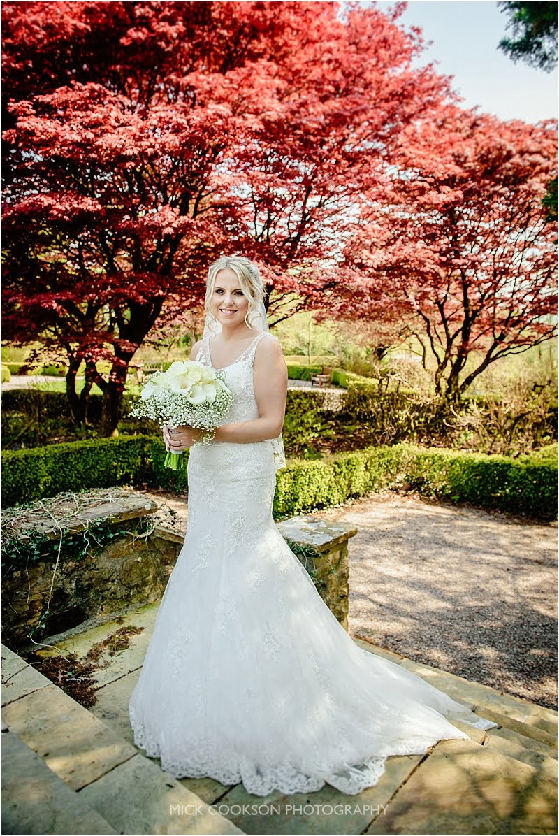 stunning bride photo at eaves hall