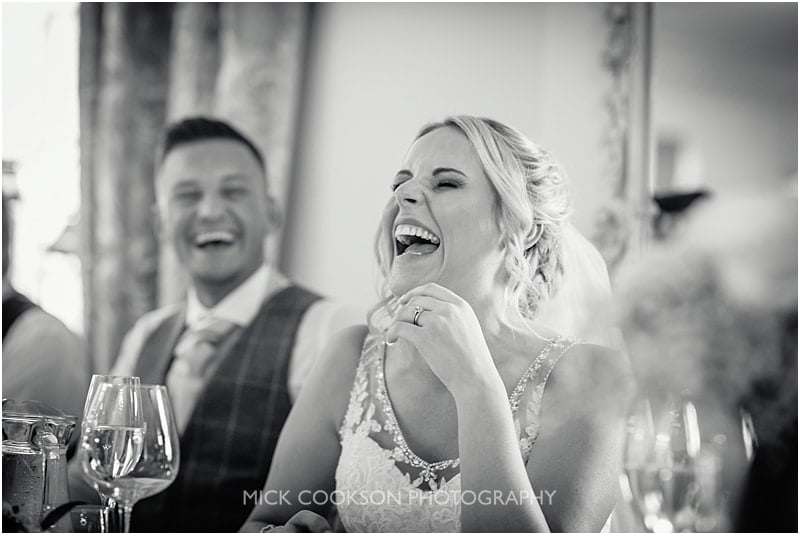 laughing bride at eaves hall
