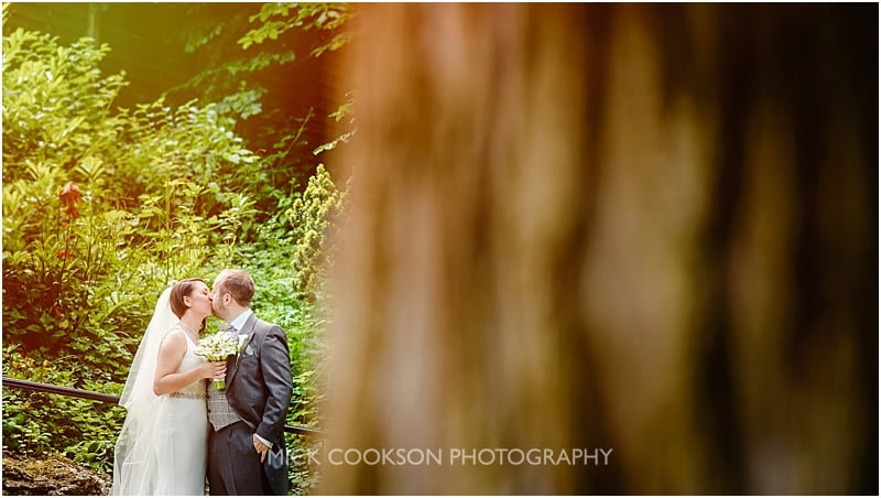 just married at mitton hall