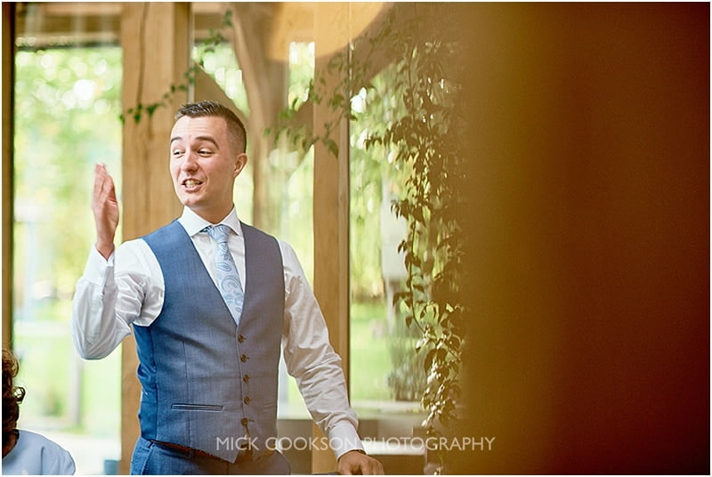 best man speech at an oak tree of peover wedding