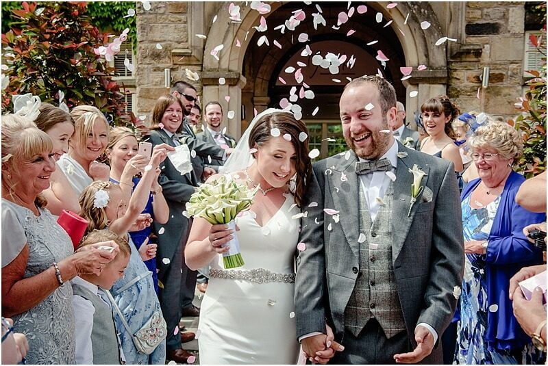 confetti at mitton hall