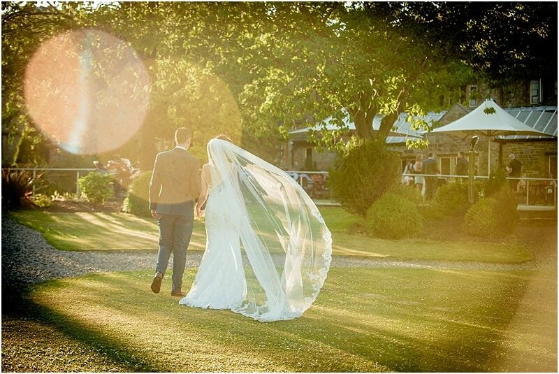 stunning sunny wedding photo at stirk house